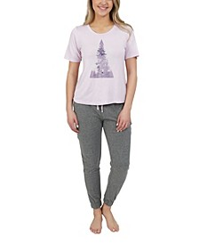 Women's Through The Pines Jogger Pajama Set