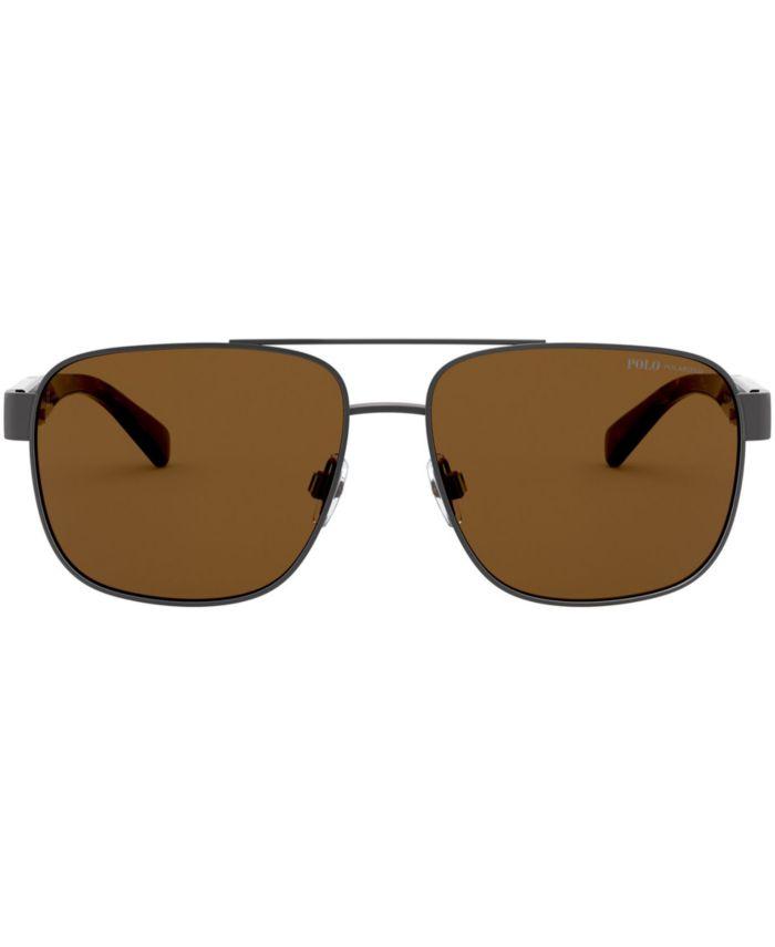 Polo Ralph Lauren Polarized Sunglasses, 0PH3130 & Reviews - Sunglasses by Sunglass Hut - Men - Macy's