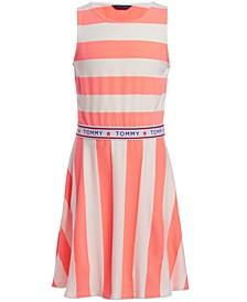 Little Girls Rugby-Stripe Dress