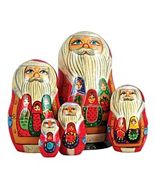 5 Piece Matreshkas Russian Matryoshka Nested Doll Set