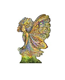 Fairy Wall Decor and Over The Door Wooden Hanger by Josephine Wall