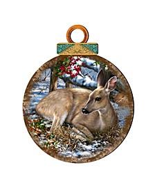 by Dona Gelsinger Sweet-Visit Ornament, Set of 2