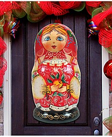 Nesting Doll Matreshkas Door Hanger