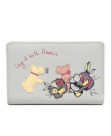 Say It With Flowers Bifold Wallet