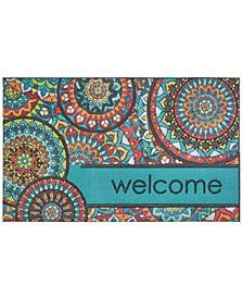 """Doorscapes Welcome 1' 6"""" L X 2' 6"""" W Doormat"""