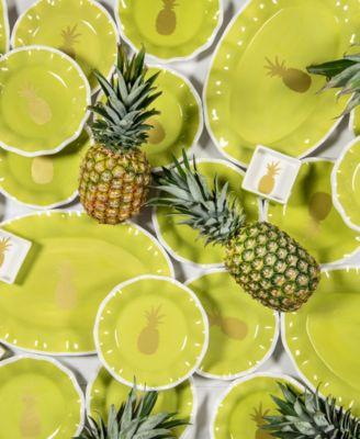 Pineapple Oval Platter