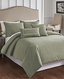 Cross Woven 6 Piece Comforter Set