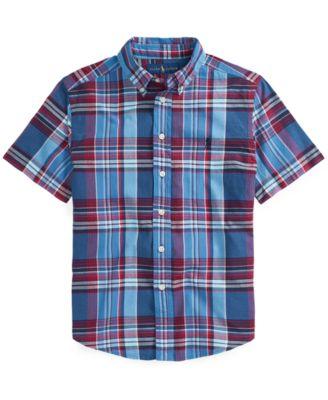 폴로 랄프로렌 남아용 셔츠 Polo Ralph Lauren Toddler Boys Madras Shirt