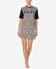 Women's Printed Sleep Shirt Nightgown