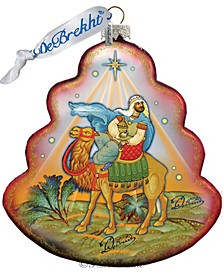 The King Tree Glass Ornament