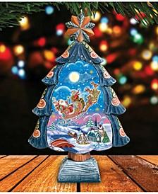 Up and Away Christmas Tree