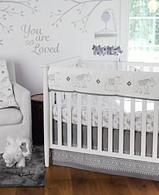 Baby Elephant Parade Crib Bedding Set of 5