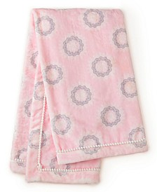 Baby Willow Printed Crib Blanket