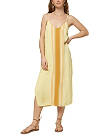 Juniors' Avana Striped Midi Dress