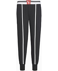 CK One Sock-Stripe Lounge Jogger Pants