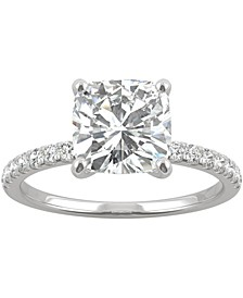 Moissanite Engagement Ring (2-5/8 ct. t.w. DEW) in 14k White Gold