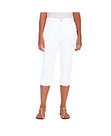 Women's Amanda Trouser Capri, in Regular & Petite Sizes