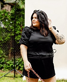 Plus Size High-Cut Shorts, Created for Macy's