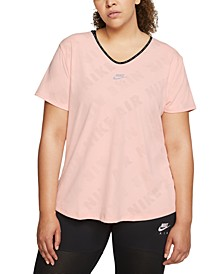 Plus Size Air Running Top