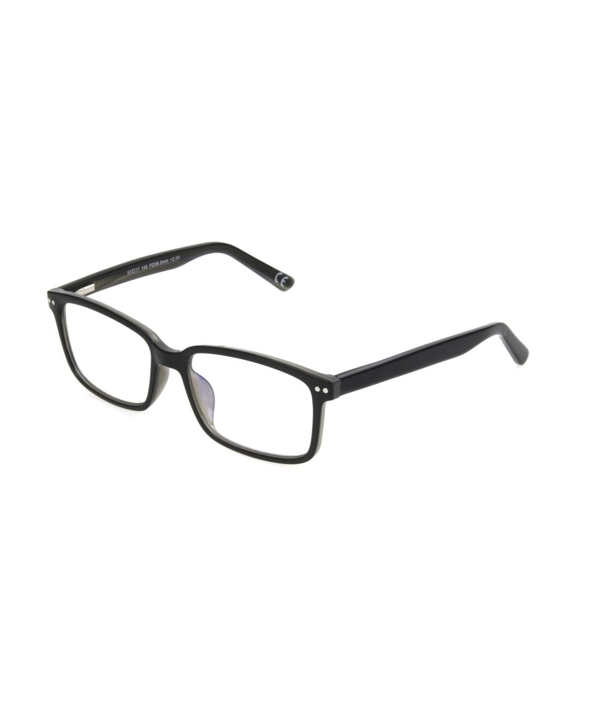 Foster Grant Zack R Men's Rectangle Reading Glasses