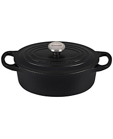 Oval Cast Iron 1-Qt. Dutch Oven