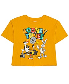 Juniors' Cotton Looney Tunes Graphic T-Shirt