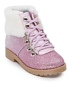 Toddler Girls Glitter Hiker Bootie