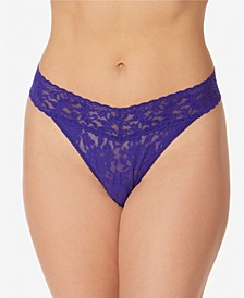 Women's Signature Lace Original Rise Thong