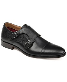 Men's Calvin Double Monk Strap Dress Shoe