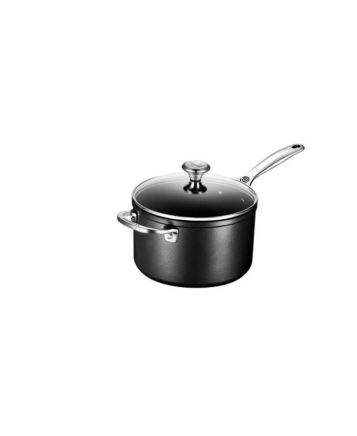 Le Creuset - Nonstick 4-Qt. Saucepan with Lid