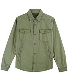 Men's Lined Shirt-Jacket