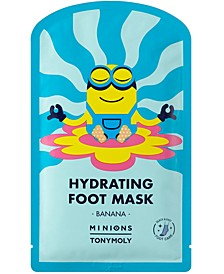 Minions Hydrating Foot Mask, 2 Booties.