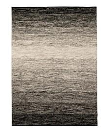 Ombre GG122 Black 6' x 9' Area Rug