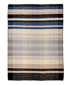 Dutch GG107 Black 6' x 9' Area Rug