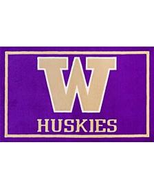 """Washington Colwa Purple 1'8"""" x 2'6"""" Area Rug"""