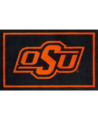 "Oklahoma State Colos Black 1'8"" x 2'6"" Area Rug"