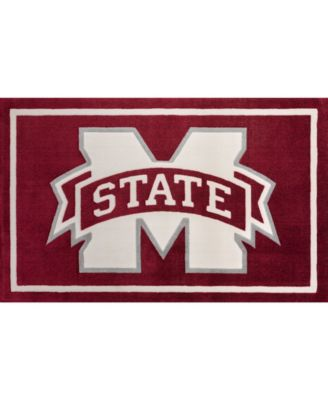 """Mississippi State Colmt Maroon 8'2"""" x 10' Area Rug"""