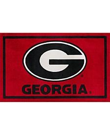 "Georgia Colga Red 1'8"" x 2'6"" Area Rug"