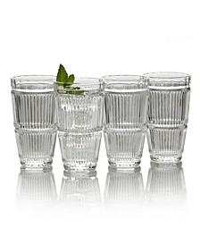 Carrol Gate Hiball Glasses, Set of 4