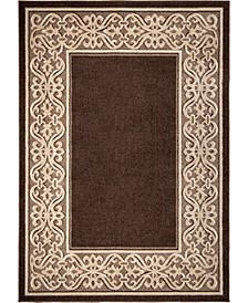"Ranch Iron Works Field Hazelnut 5'2"" x 7'6"" Area Rug"