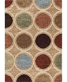 "Reacation Shag Loop Multi 7'10"" x 10'10"" Area Rug"