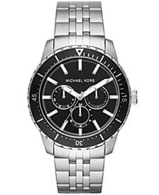 Men's Cunningham Multifunction Stainless Steel Bracelet Watch 44mm