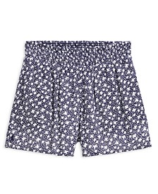 폴로 랄프로렌 Polo Ralph Lauren Big Girls Floral-Print Shorts,Blue Multi