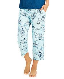 Charter Club Cotton Capri Pajama Pants, Created for Macy's