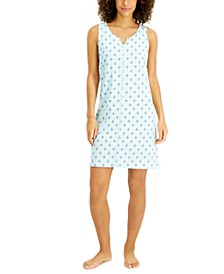 Lace-Trim Cotton Nightgown, Created for Macy's
