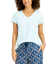 V-neck Pajama Top, Created for Macy's