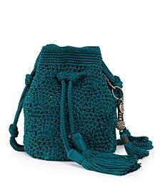 Sayulita Crochet Drawstring Bucket