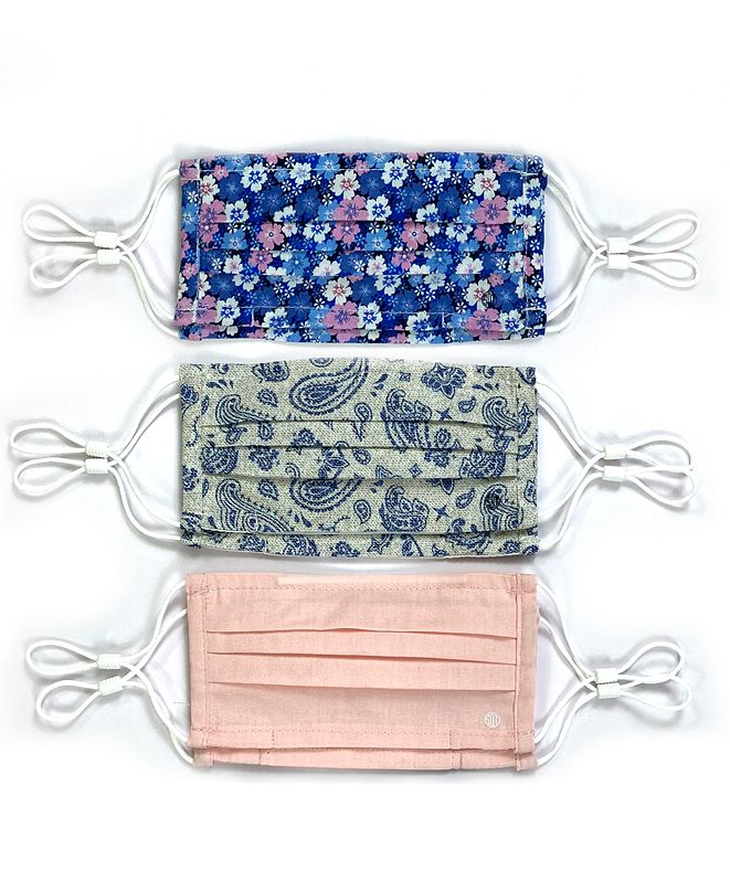 Society of Threads Kid's Face Mask Floral 6-Pack