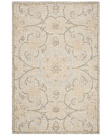 Abstract 527 Silver 5' x 8' Area Rug