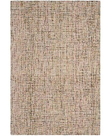 Abstract 468 Gold and Blue 6' x 9' Area Rug